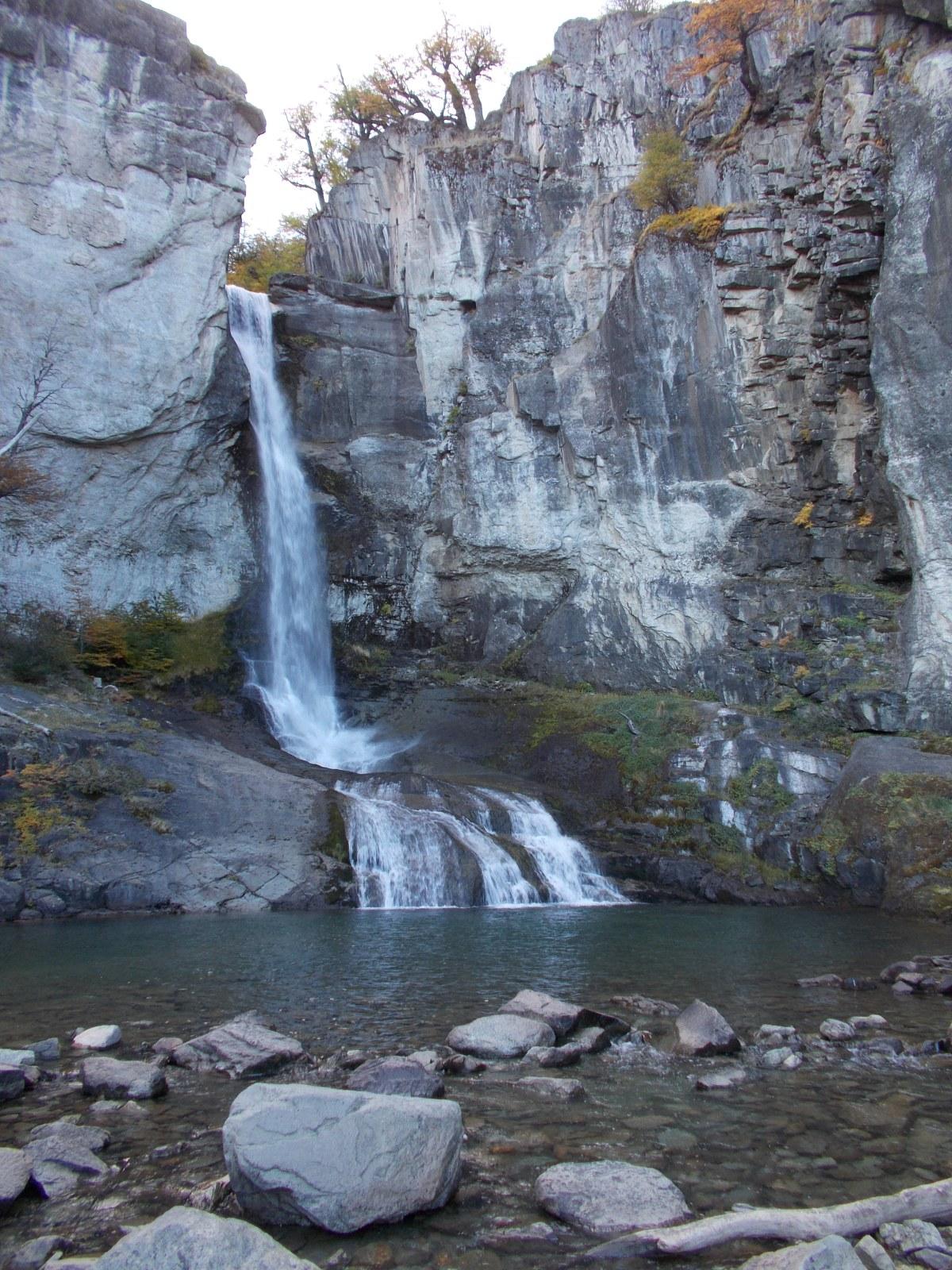 Chorillo del Salto waterfall, just outside El Chalten