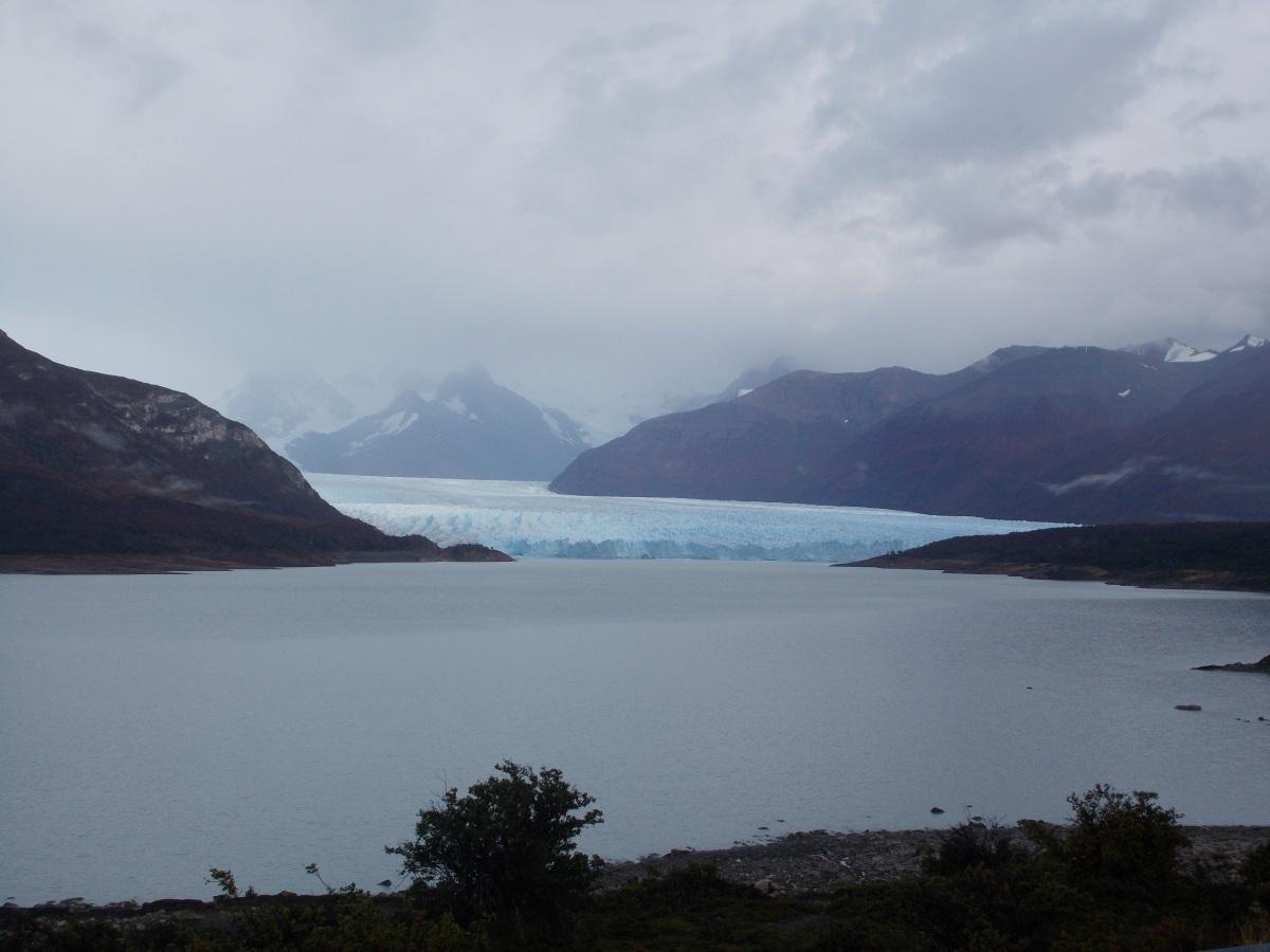 Perito Moreno Glacier from a distance