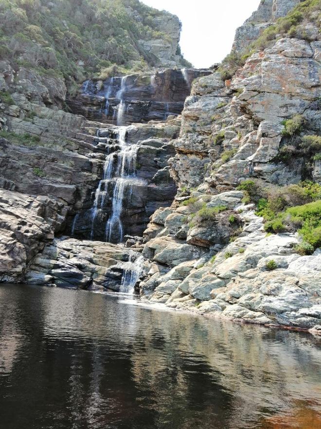 Waterfall in the Tsitsikamma National Park
